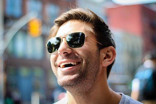 Les lunettes de soleil contre l'éblouissement